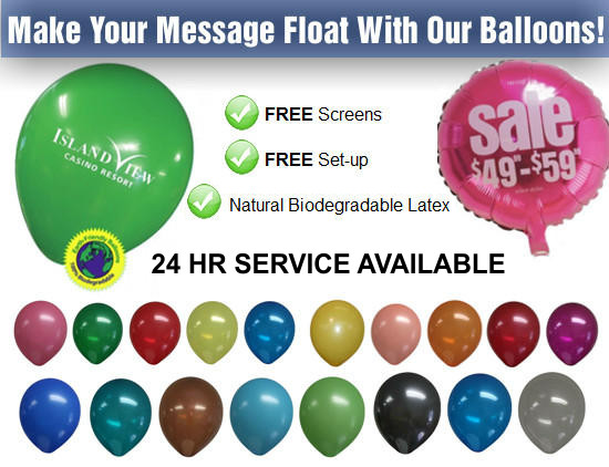 Lets Print Baby, Balloons, Promotional Products, Woodbridge, Middlesex County, NJ