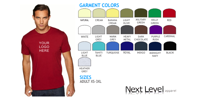Lets print baby next level 3600 t shirts wearables Next level printed shirts