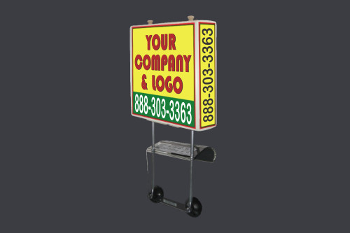Lets Print Baby Signs Pizza Box Car Topper Iselin