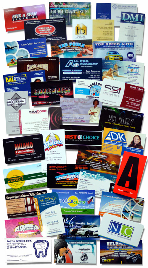 Lets Print Baby Custom Printed Business Cards Printing Services
